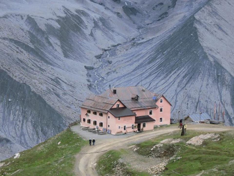 Schaubachhütte in Sulden