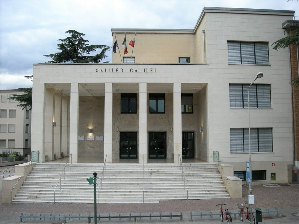 Am italienischsprachigen Oberschulzentrum \