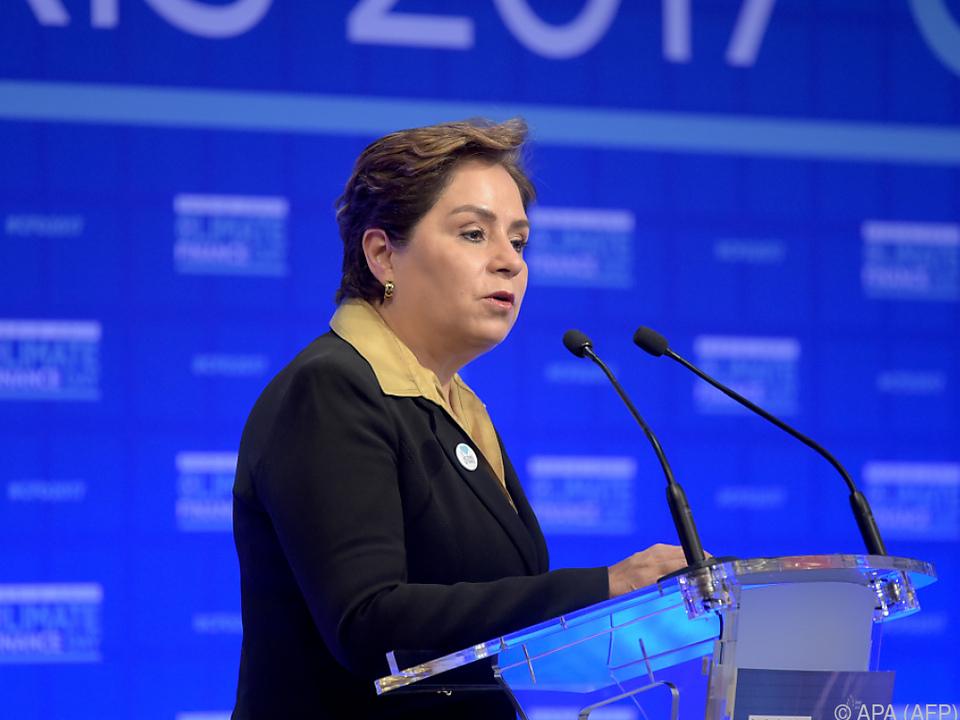 Generalsekretärin der UNO-Klimarahmenkonvention, Patricia Espinosa Cantellano