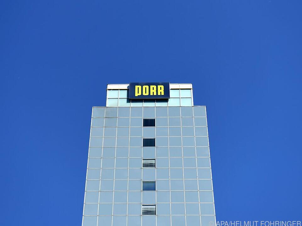 Der Firmensitz des Baukonzerns Porr in Wien