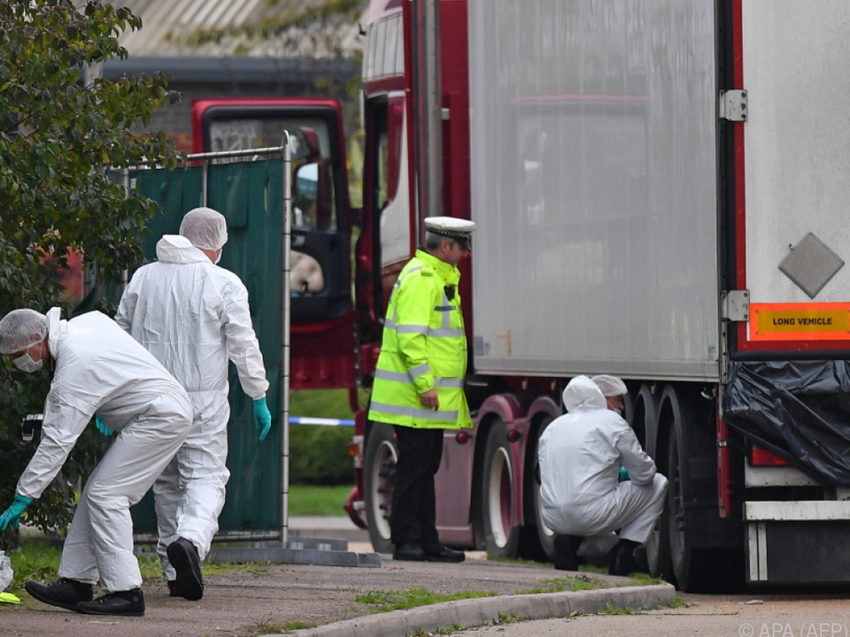 39 Menschen kamen bei dem Transport ums Leben