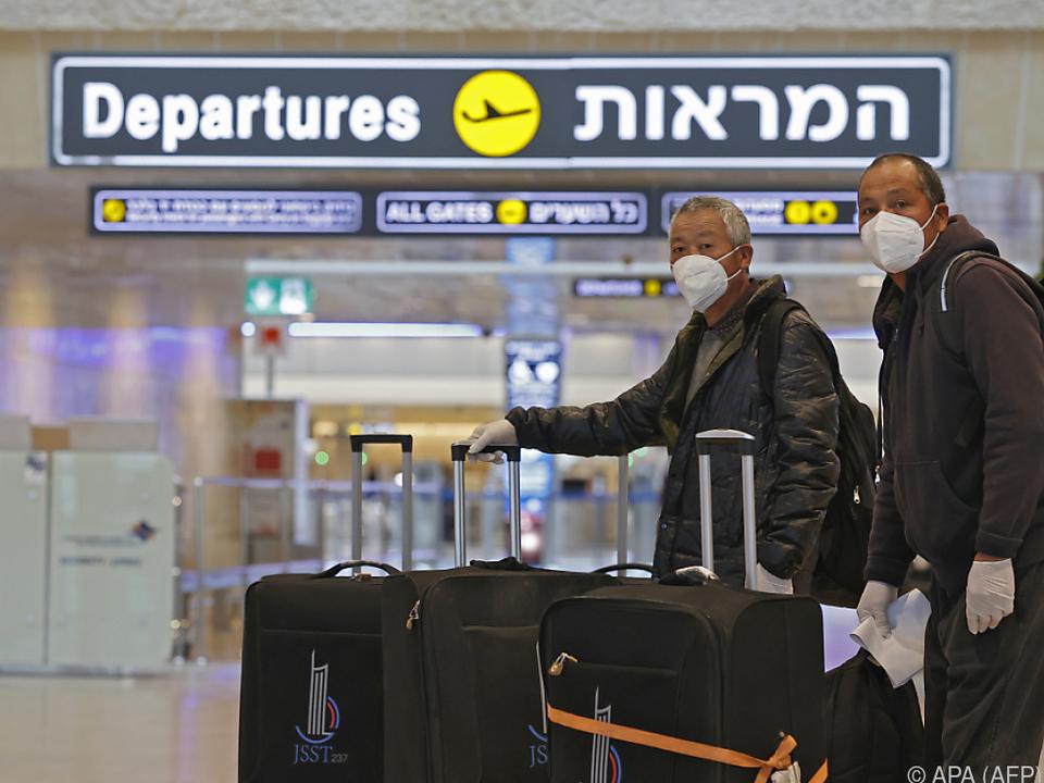 Airport in Tel Aviv soll \