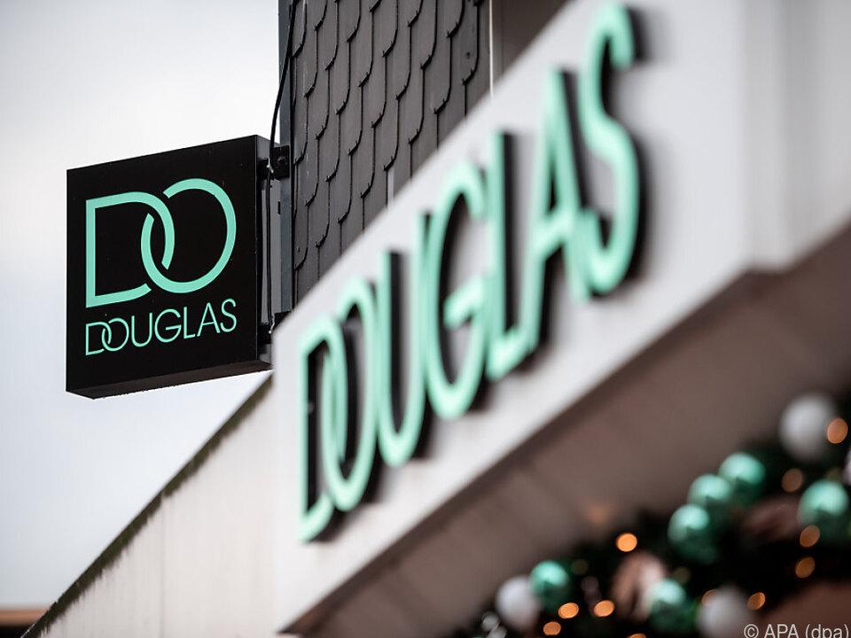 Aktuelles Logo der Firma Douglas