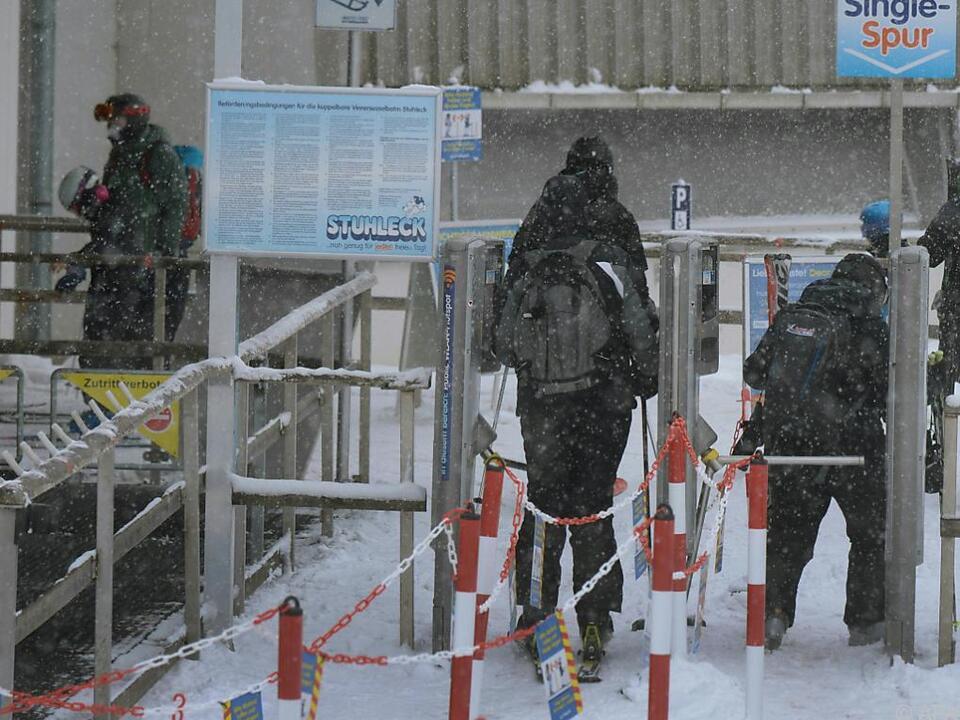 Skifahrer-Andrang am Semmering hielt sich am Dreikönigstag in Grenzen