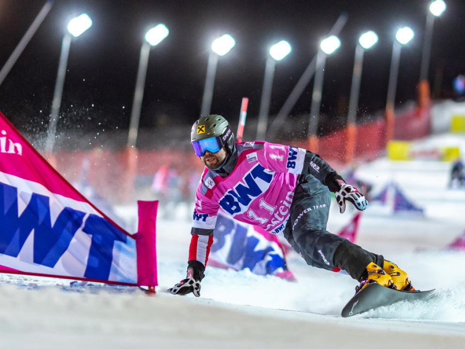 Andreas Prommegger holt beim Heim-Weltcup zwei Podestplätze