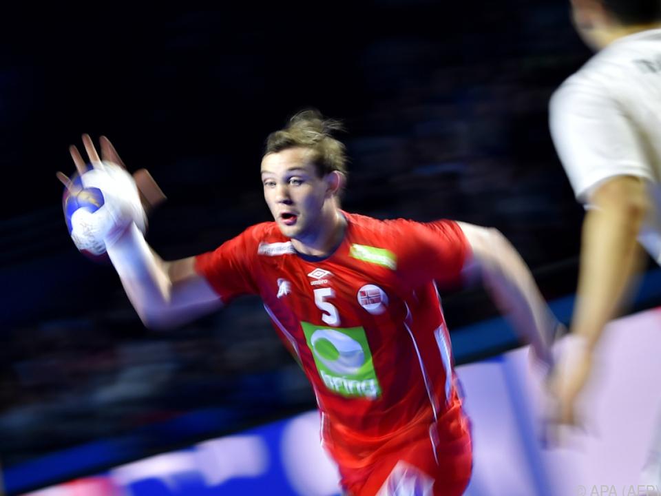 Archivbild von Handball-Star Sander Sagosen