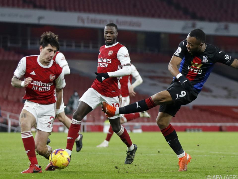 Arsenal und Crystal Palace trennten sich torlos