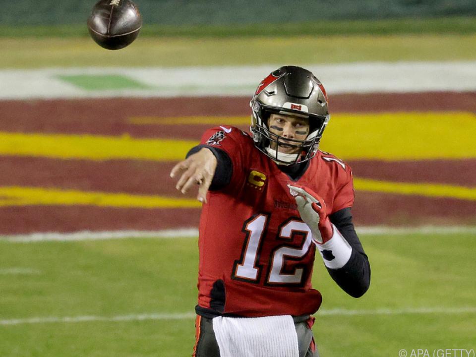 Tom Brady mit Tampa Bay in zweiter Play-off-Runde