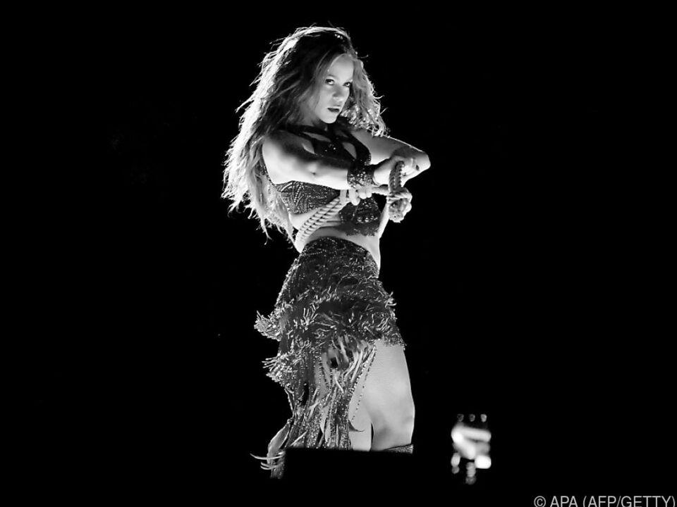 Auch Shakira macht ihre Rechte zu Geld