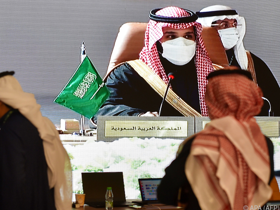 Mohammed bin Salman gibt sich friedfertig