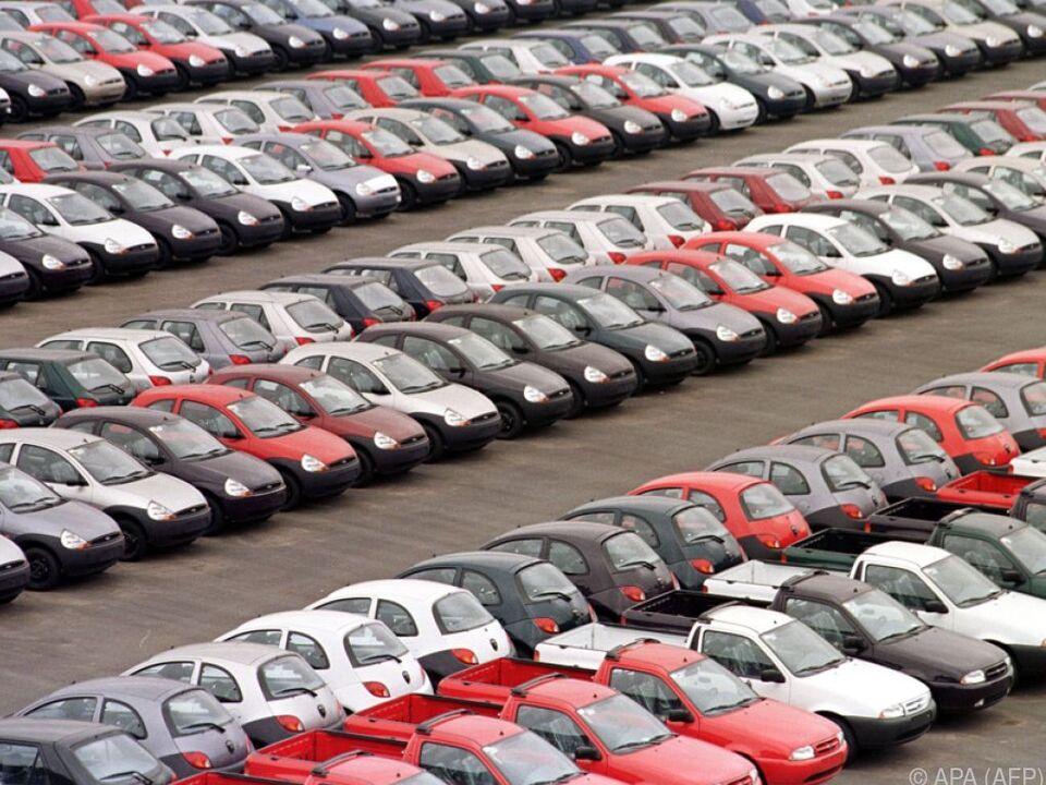 Autoverkauf gesunken
