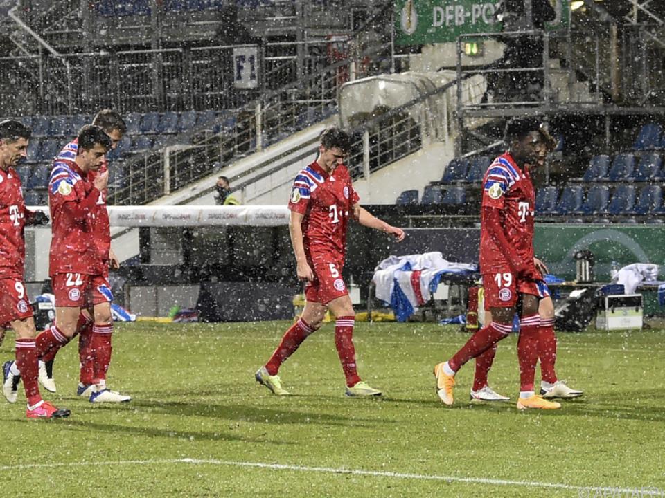 Bayern-Profis schlichen in Kiel als Verlierer vom Platz