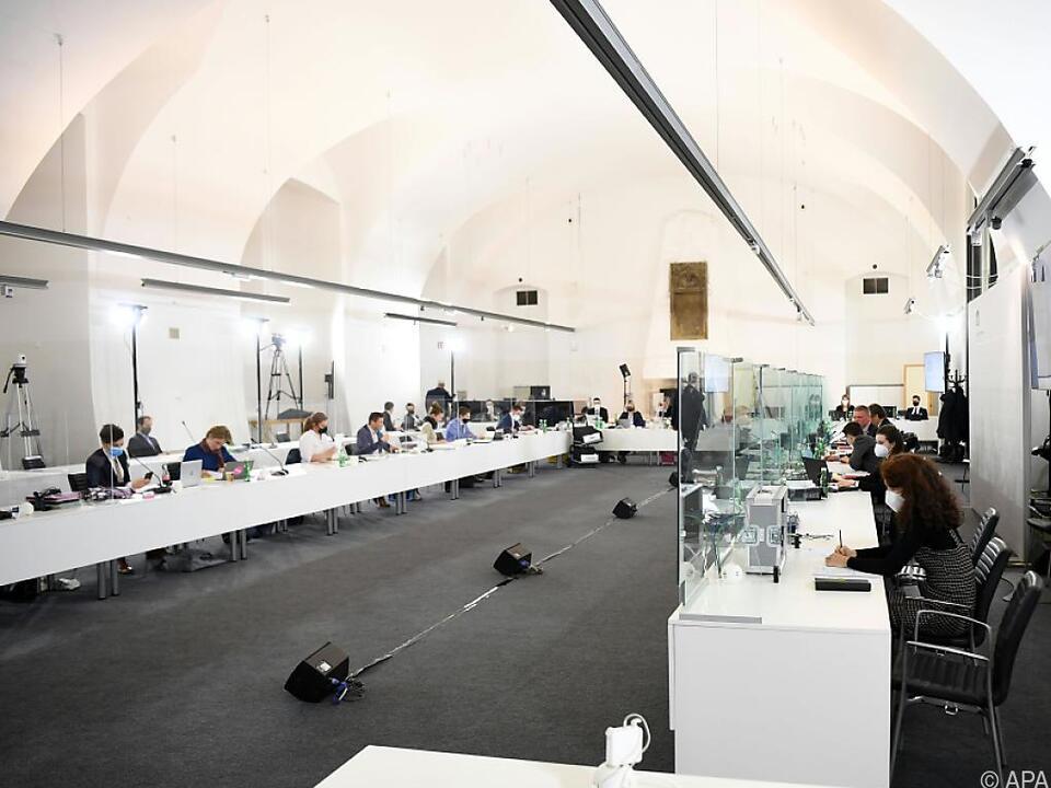 Befragungsraum des Ibiza-U-Ausschusses