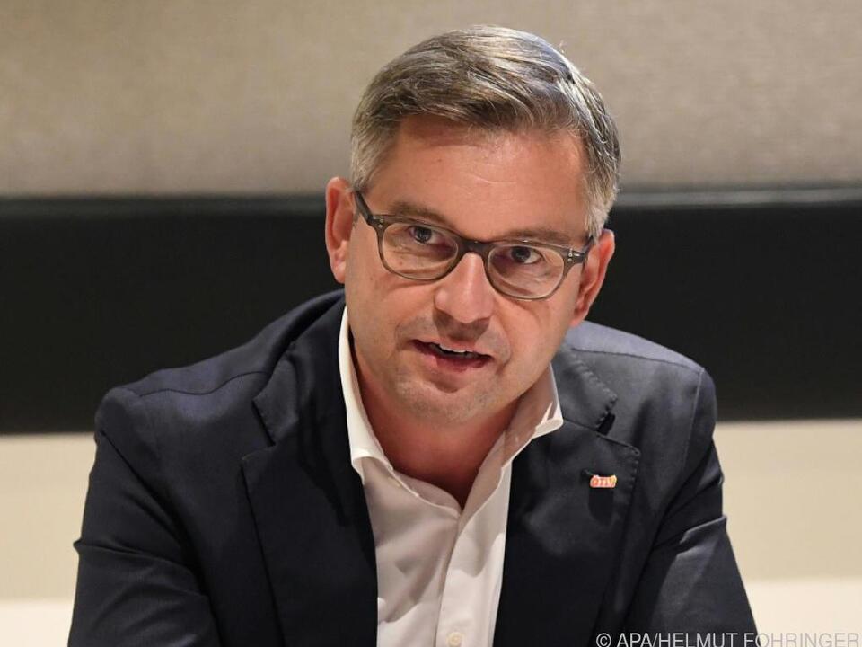 Der ÖVP-Staatssekretär im Klimaministerium, Magnus Brunner