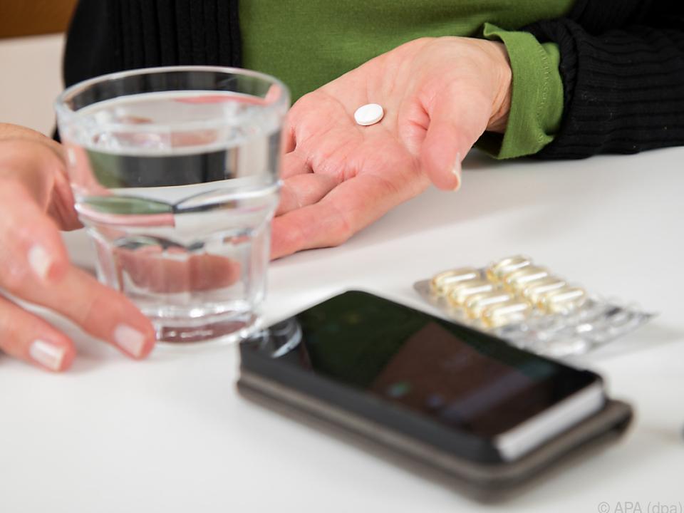 Bei der Einnahme der Medikamente sollte man nicht durcheinander kommen
