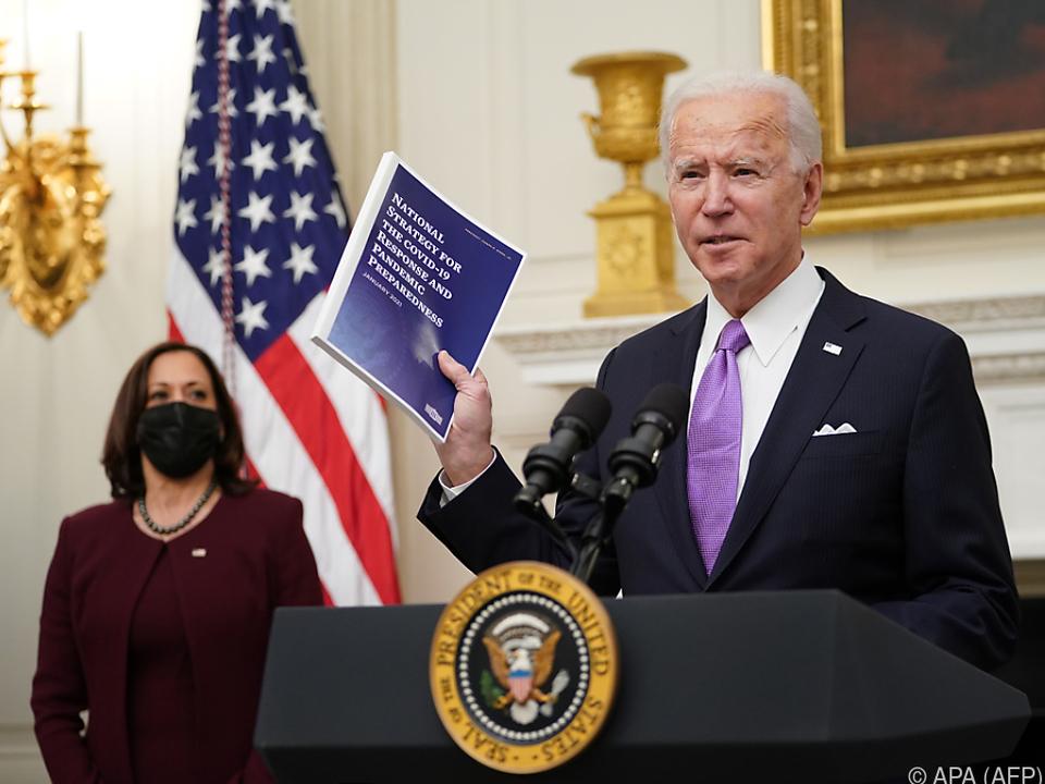 Biden stellte Coronavirus-Strategie vor