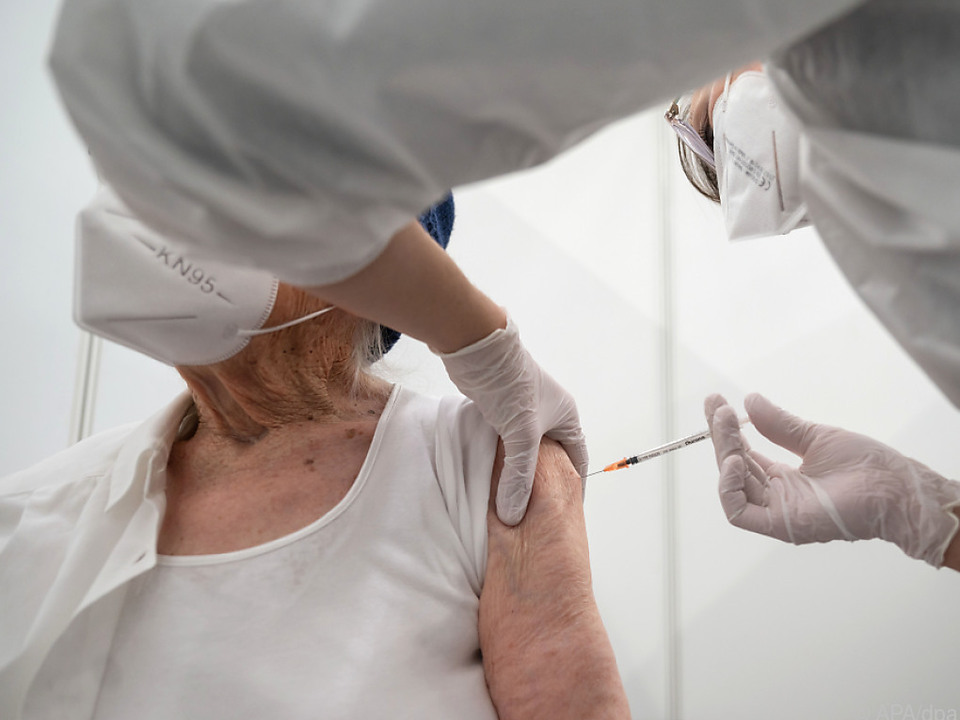 Impfung mit Covid-19-Impfstoff