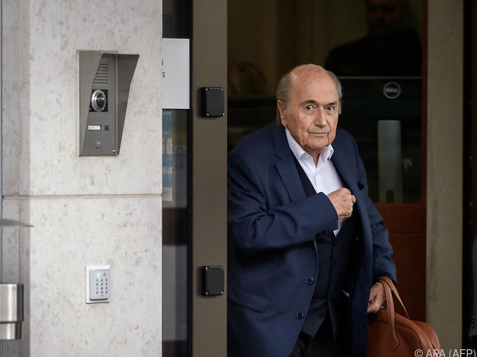 Blatter nicht mehr auf Intensivstation