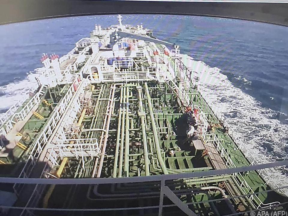 Südkoreanischer Tanker wurde festgesetzt