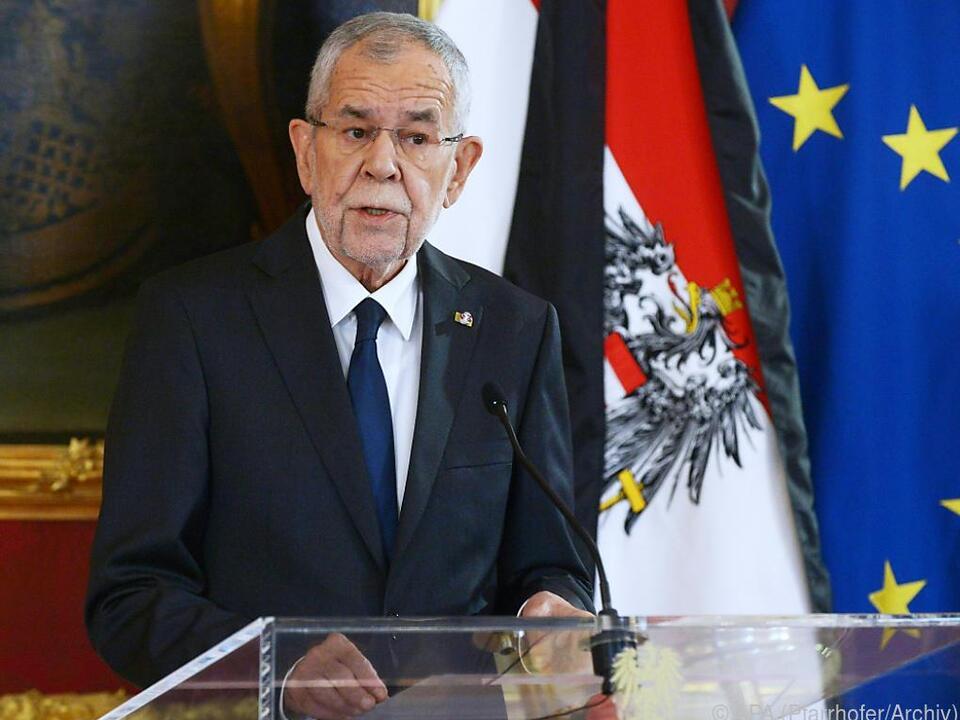 Bundespräsident fordert mehr Anstrengungen in der Klimapolitik