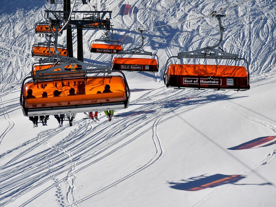 Clusteranalysen zeigen so gut wie keine Fälle ski symbol skilift