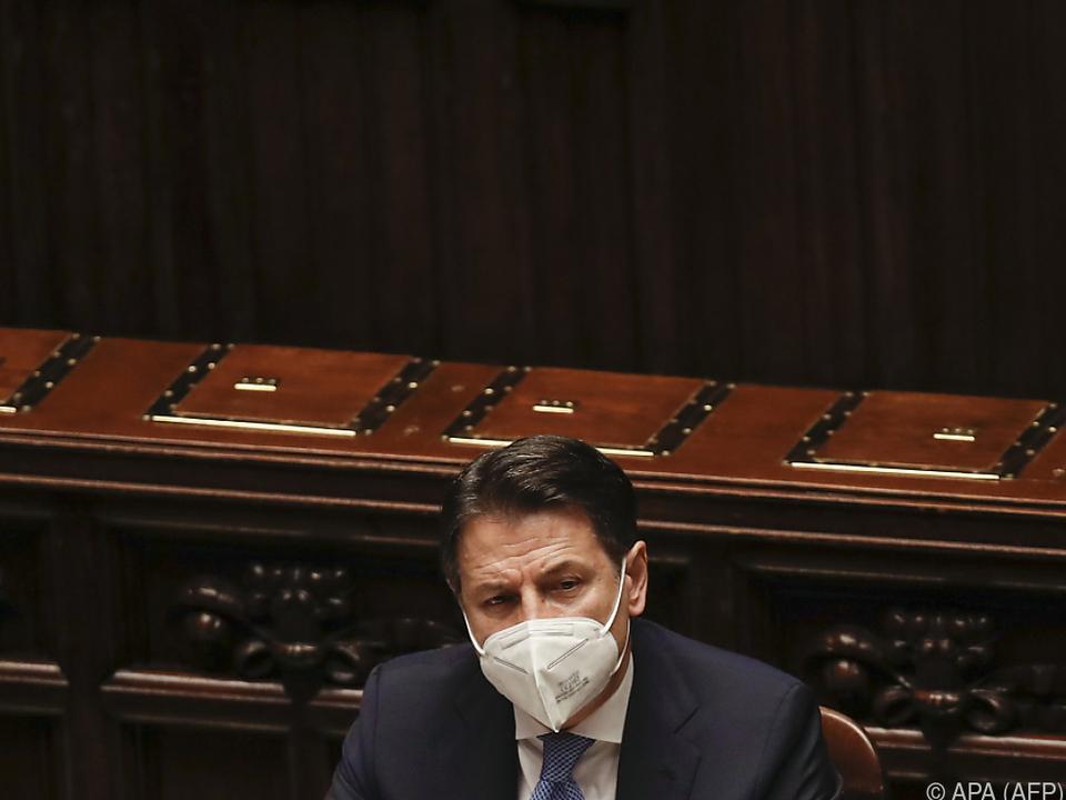 Conte bewältigte erste Hürde im Parlament