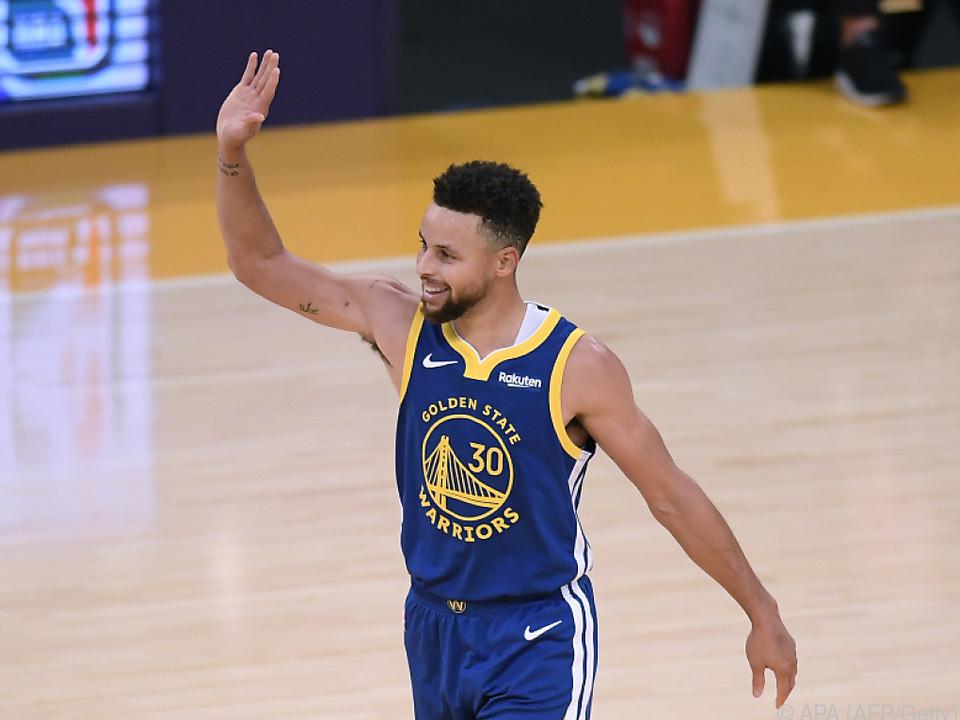 Curry als Warriors-Matchwinner beim Sieg über die Lakers