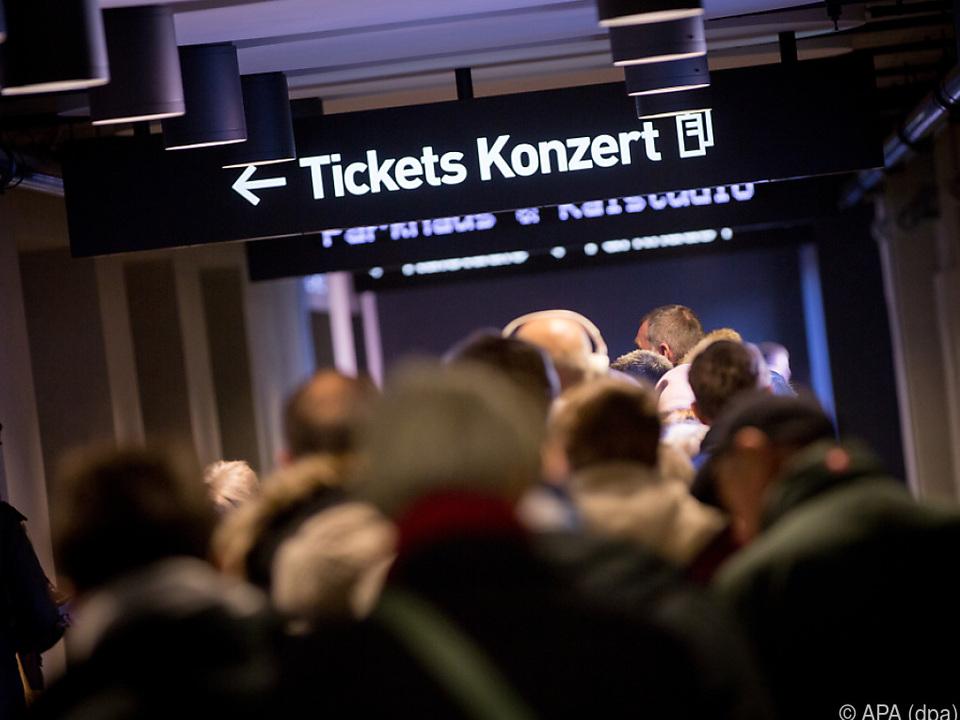 Das Gedränge vor Ticketkassen blieb 2020 coronabedingt aus