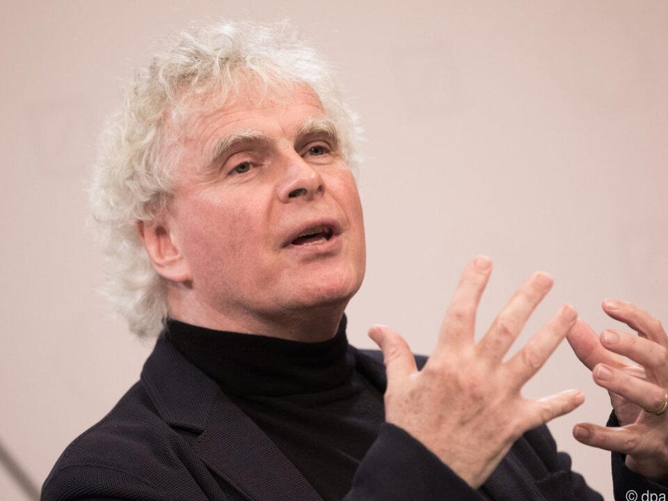 Rattle übernimmt die Leitung des BR-Symphonieorchesters