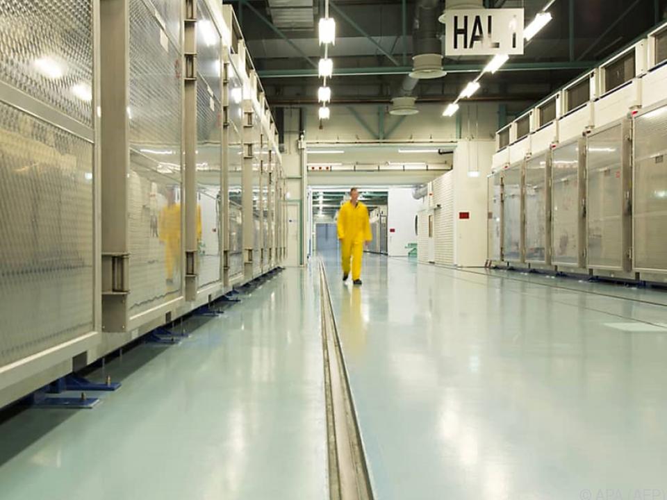 Urananreicherung in der Atomanlage Fordo