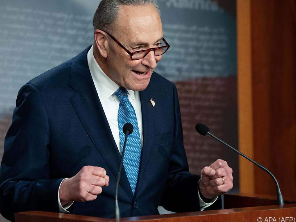 Demokrat Schumer übernimmt Führung des Senats