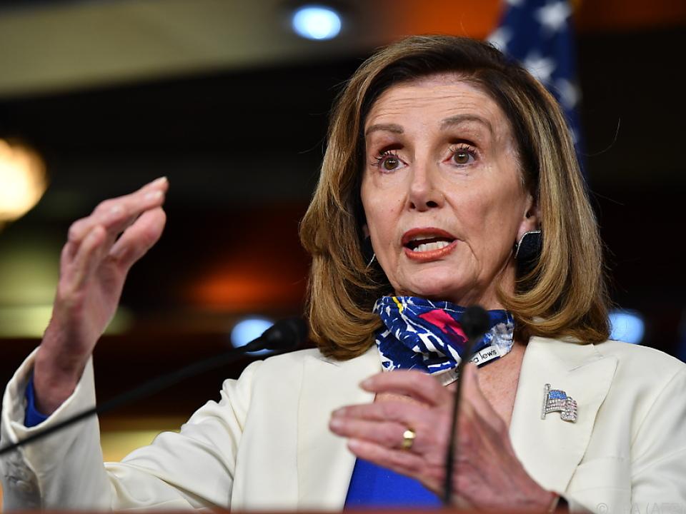 Demokratin Pelosi bleibt dritte Frau im Staate