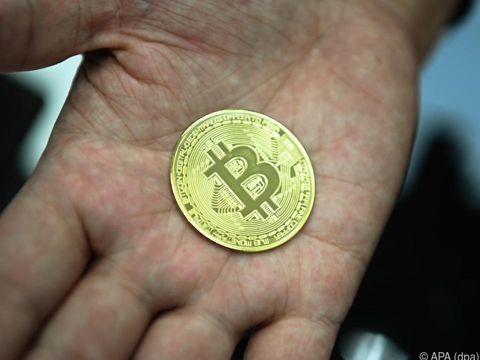Der Bitcoin im Höhenflug