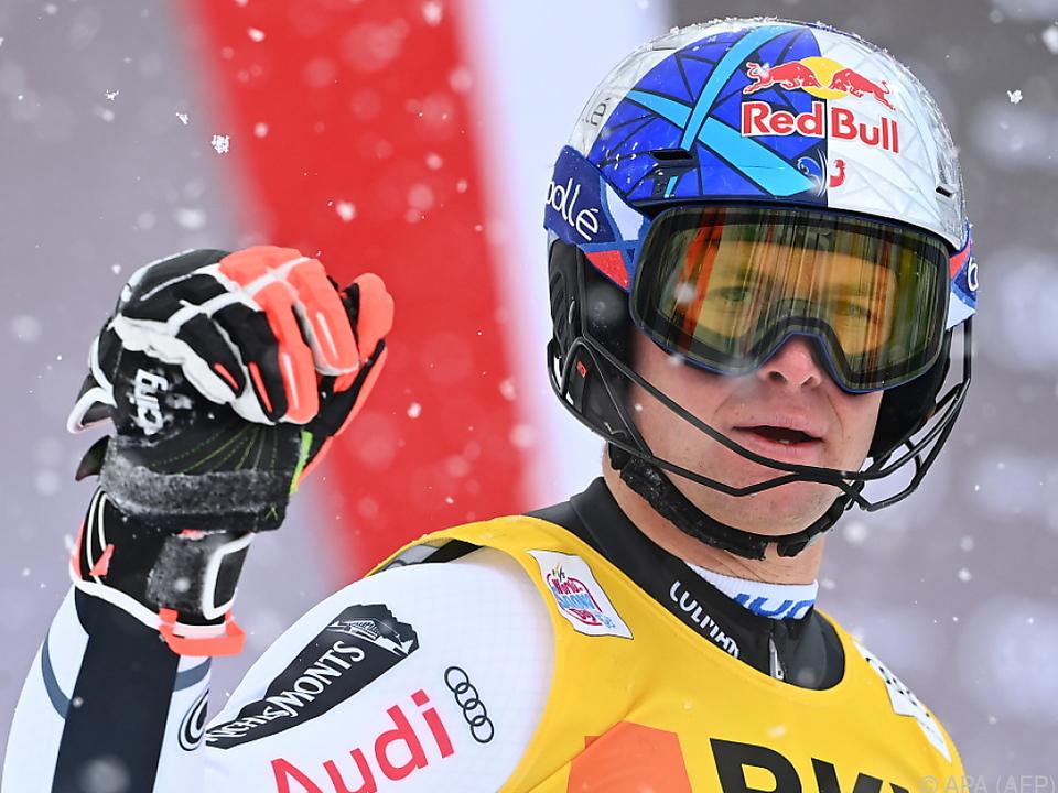 Der Franzose Alexis Pinturualt führt im Skiweltcup