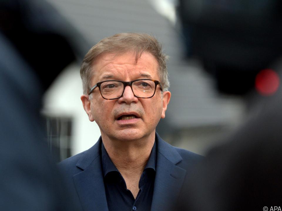 Der Gesundheitsminister bei einem Termin in Klosterneuburg