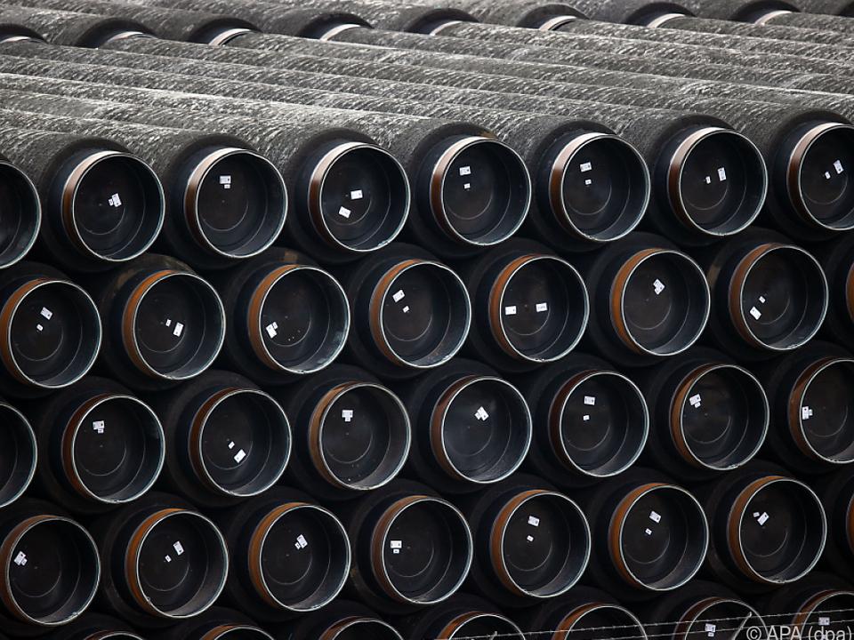 Deutschland hält an Bau von Nord Stream II fest