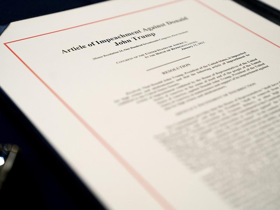 Die Anklageschrift gegen Trump