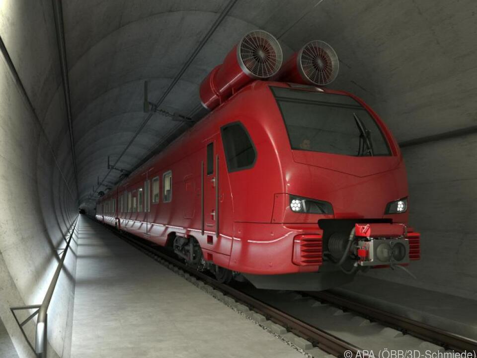 Die ersten Züge sollen ab 2024 fahren