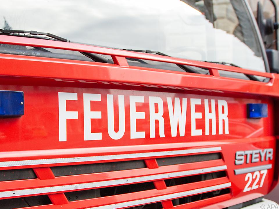 Die Feuerwehr hatte in Tirol viel zu tun