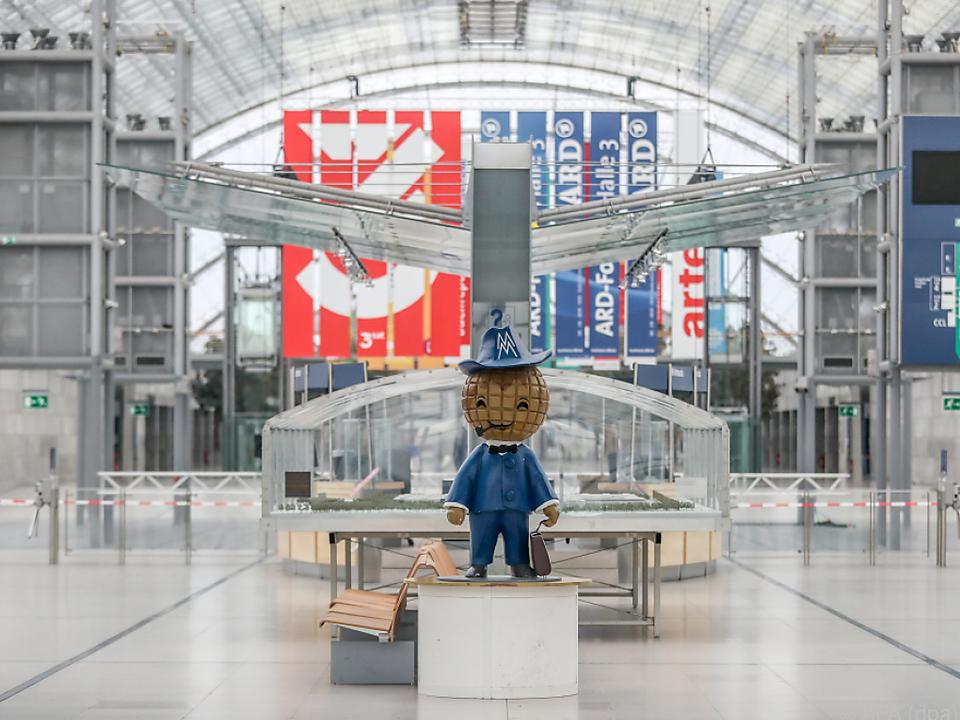 Die Hallen der Leipziger Buchmesse bleiben auch 2021 leer.