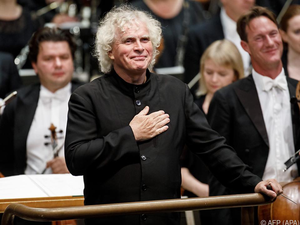 Dirigent Simon Rattle (Archivbild)
