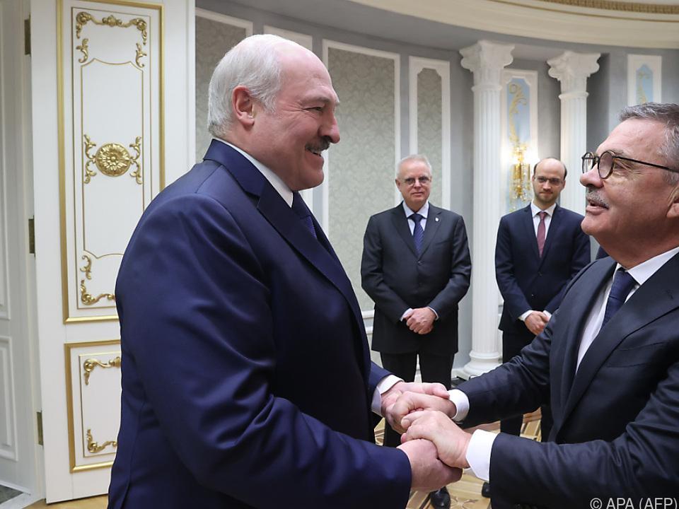 Doch keine Eishockey-WM im Land von Lukaschenko