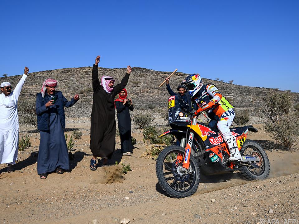 KTM-Fahrer Matthias Walkner bei der Rallye Dakar