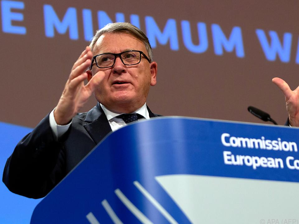 EU-Sozialkommissar Schmit sieht die EU-Mitgliedsländer gefordert