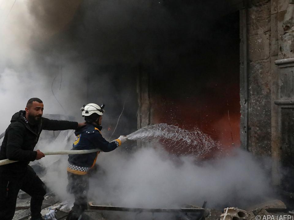 Explosion in der Nähe eines Kulturzentrums in Azaz