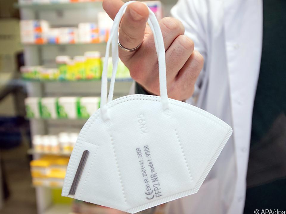 FFP2-Masken sind ab 25. Jänner für Kunden im Supermarkt Pflicht
