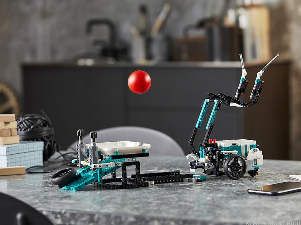 Roboter Twiggy geht es sportlich an