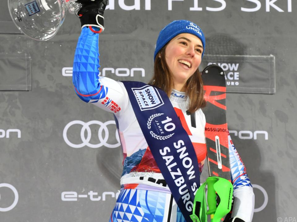 Petra Vlhova hat 2019und 2020 den Flachau-Slalom gewonnen