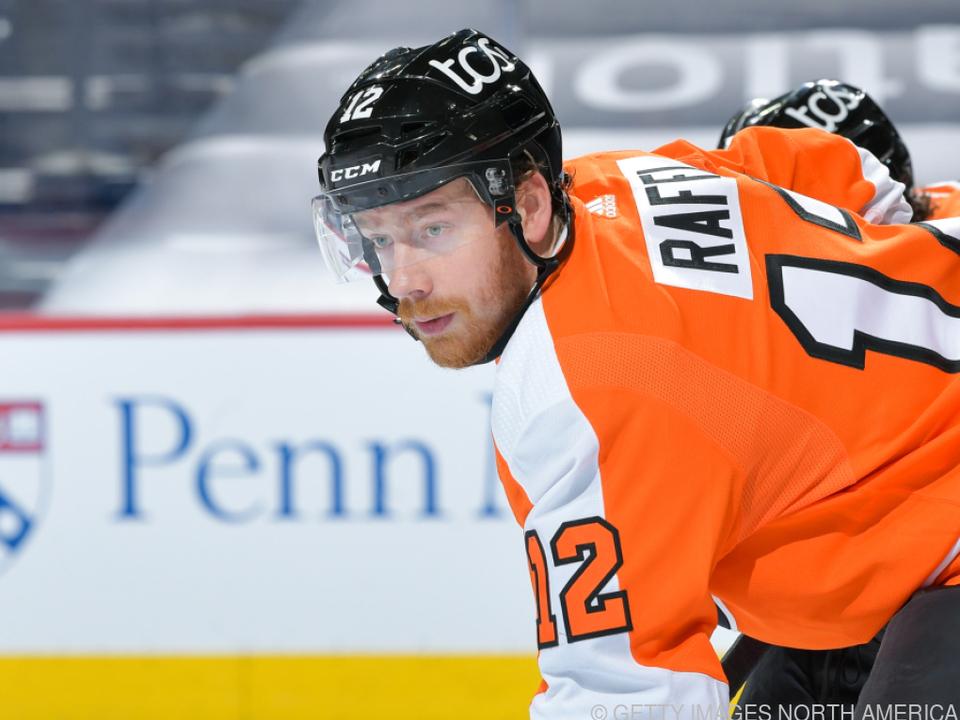 Für Michael Raffl und die Philadelphia Flyers läuft es gut (Archiv)