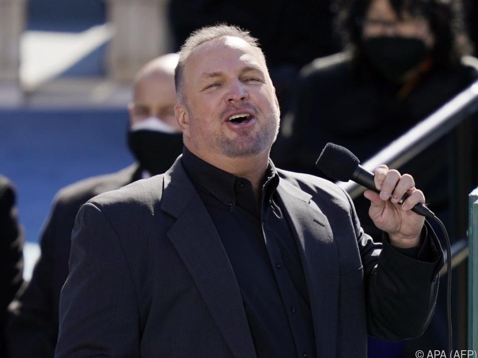 Garth Brooks sang für den Präsidenten